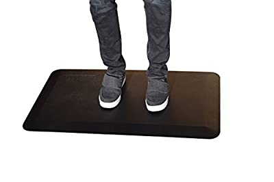 """Premium Standing Desk Anti-Fatigue Comfort Floor Mat for Kitchen/Office - 20x34"""""""