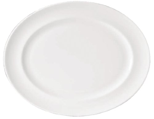 Royal Porcelaine Cg234 Maxadura Advantage Plat Ovale, Blanc (lot de 12)