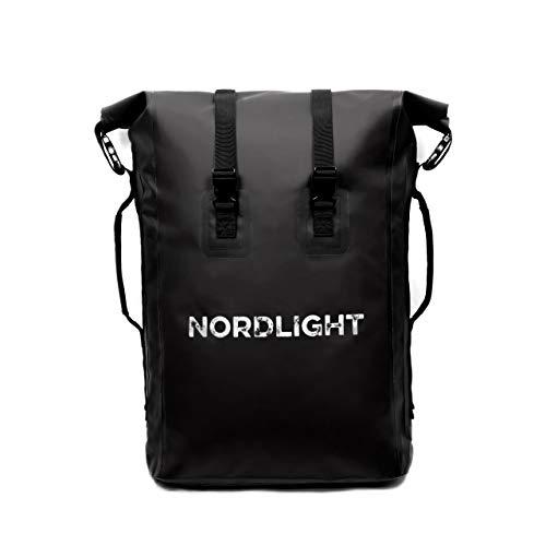 Nordlight Wasserdichter Rucksack Drybag Roll Top -mit gepolstertem Tragegurt, Rucksack...