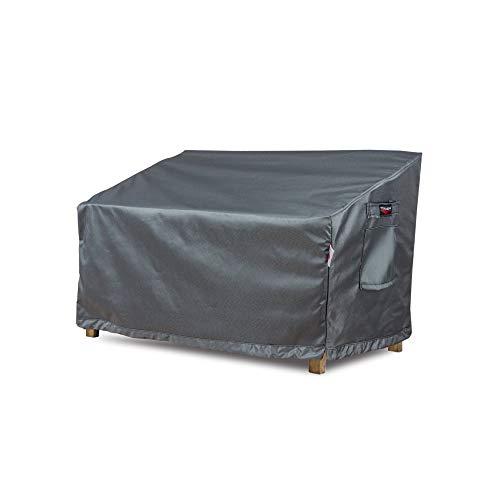 Shield Titanium - Fundas para sillón de Dos Capas, Resistentes al Agua, Color Gris Oscuro