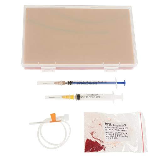 Injektionsnahttraining Human Skin Pad Medizinisch Wiederholtes Modell Pädagogisches Zubehör für Krankenpfleger