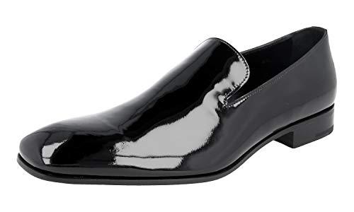 Prada Herren Schwarz Leder Business Schuhe 2DA074 069 F0002 40.5 EU / 6.5 UK