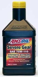 AMSOIL FULL SYNTHETIC Severe Gear Oil 75W-110 1 Quart
