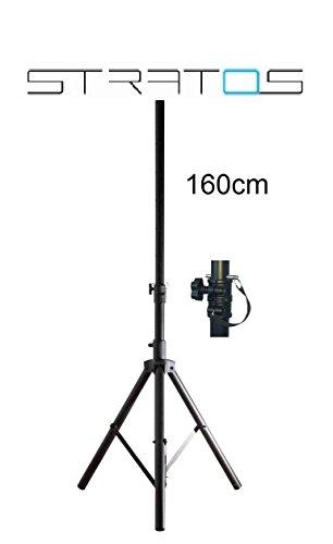 STRATOS Premium Dreibein Stativ ALU für Camping Sat Antennen 1,6m