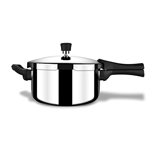 Stahl Triply Stainless Steel Xpress Pressure Cooker Outer Lid Standard, 9243, 3.0 Liter, 1-Piece, Silver