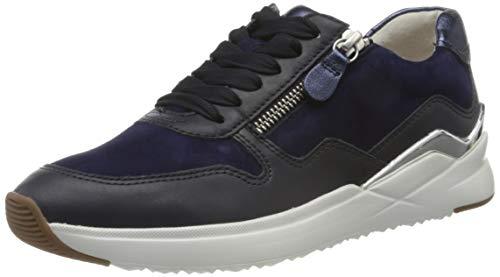 Gabor Damen Jollys 43.48 Sneaker, Blau (Midnight/Bluette 26), 42 EU