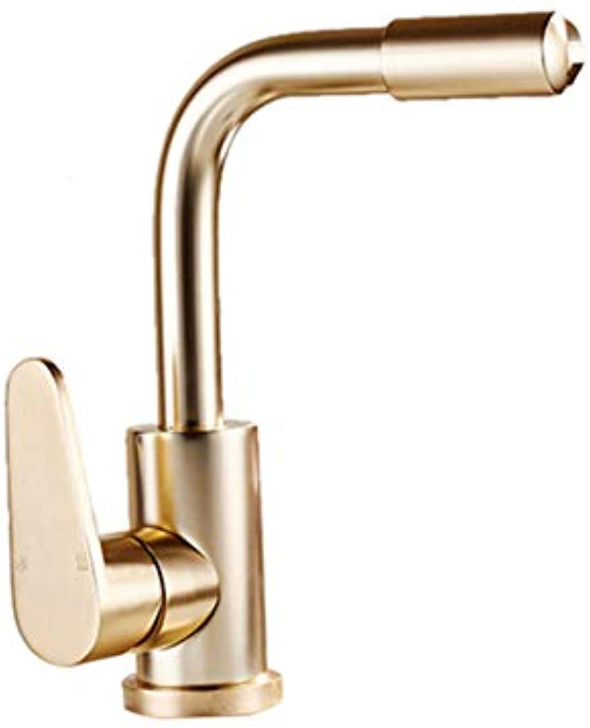 redOOY Taps Space Aluminum Earth Haojin Kitchen Faucet Sink Faucet Sink Hot And Cold Water Mixer