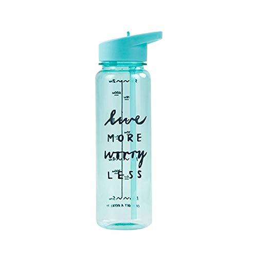 PURPLELU Taza de Agua Deportiva al Aire Libre, Botella de Agua de Gran Capacidad de Gran Capacidad para Deportes/Escalada/al Aire Libre,Verde