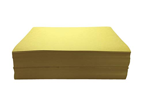 Childcraft Construction Paper 9 x 12 Inches Yellow Pack of 500  1465885