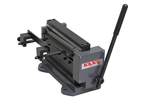 "KAKA 8""MINI 8-Inch Manual Mini Shear and Brake Combination, Miniature Compact Manual Sheet Metal Brake and Shear Combination"