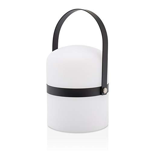 LUUK LIFESTYLE Lampara de salón de Mesa, Design Linterna, LED, Nordic Decor,...