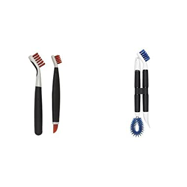 OXO Good Grips Kitchen Appliance Cleaning Set with Deep Clean Brush Bundle