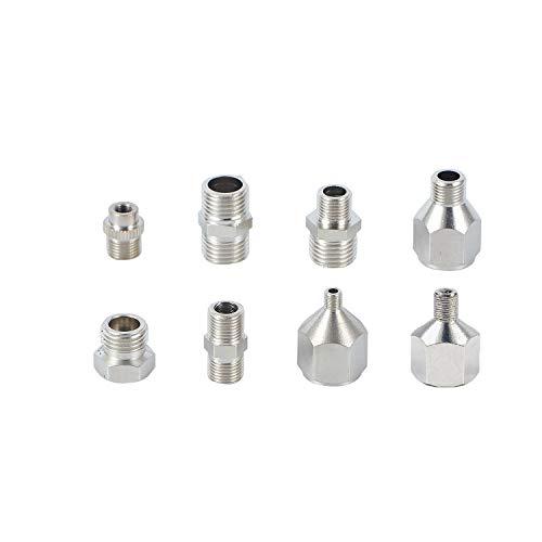 ABEST Airbrush-Adapter-Set für Airbrush-Kompressor und Airbrush-Schlauch 8 Stück