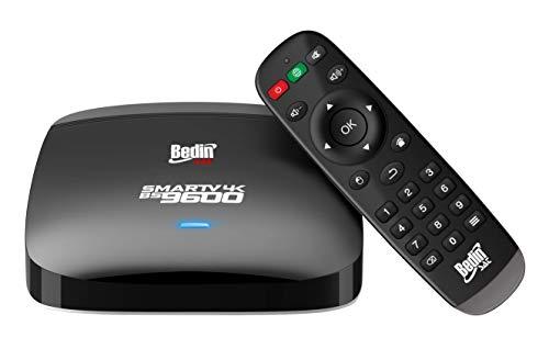 Android Box SmarTV, Bedin Sat, Ultrabox 0050316001, Preto