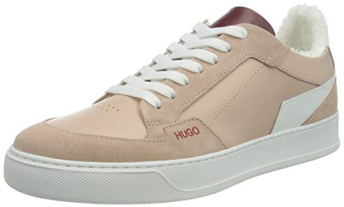 HUGO Damen Vera Lace M Sneaker, Light Beige273