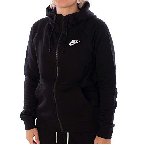 Nike W NSW Essntl Hoodie FZ FLC Felpa, Donna, Watermelon/White, S