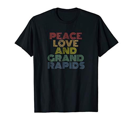 Grand Rapids, Michigan Tshirt distressed