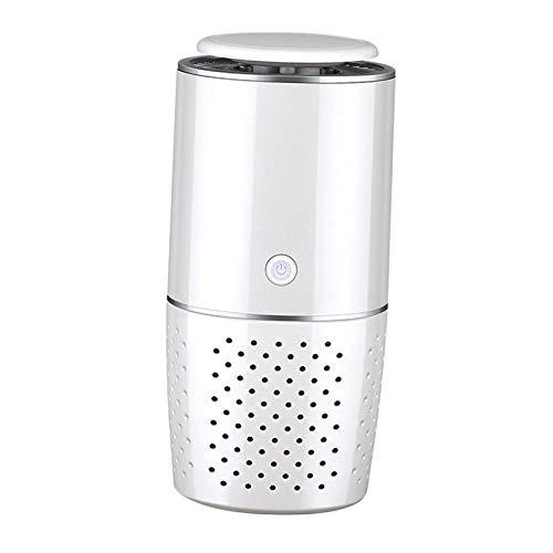 Baoblaze Purificador de Aire del Coche con Filtro, Cargador USB portátil Limpiador de Aire para Coche, Oficina, Dormitorio, para Eliminar eficazmente el Polvo,