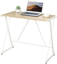 GreenForest Writing Computer Desk Simple PC Laptop Table Workstation for Home Office, Easy Assembly, Oak