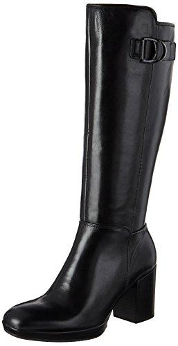 ECCO Women's Shape 55 Chalet Tall Riding Boot, Black, 8-8.5