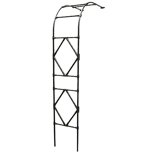 Arco de Metal para Rosales Y Enredaderas de 2,4 M,Resistente Cenador Tubular Resistente,fácil de Montar,se Aplica de Jardín Patio Trasero