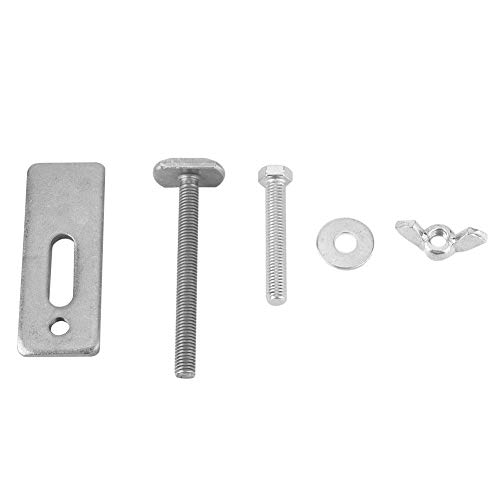 T Type Screw,T Type Screw 8cm Eisen T-Schlitz-Platten-Klammer-hölzerner Fräser-Tabelle für CNC-Graviermaschine usw,mit Location Screw/Wing Nut/Round Washer/Thickness Steel Plate