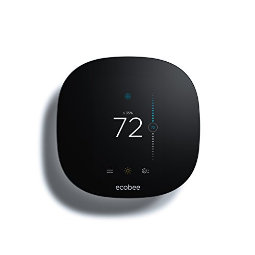 ecobee EB-STATe3L-01 3 Lite Thermostat, Wi-Fi, Works with Amazon Alexa