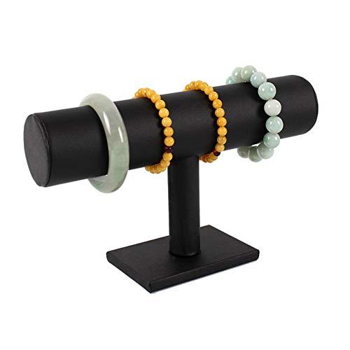 Rysmliuhan Shop Colgador Collares joyero Soporte de Pulsera para Collar Collar Soporte Scrunchie Titular Colgador Collar Pulsera de Soporte de exhibición Black