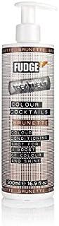 ファッジ色カクテル - ブルネット(500ミリリットル) x4 - Fudge Colour Cocktail - Brunette (500ml) (Pack of 4) [並行輸入品]