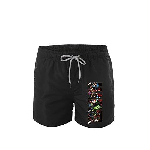 Shorts De Sport pour Hommes Imprimés Été Nouveaux Shorts Décontractés Shorts De Course en Plein Air pour Hommes Pantalons De Plage À Séchage Rapide Pantalons De Fitness XL 4