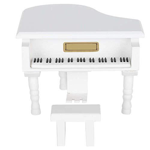 Weimingshop Caja Musical Caja de música Piano Modelo Decoración para el hogar Inicio Estudiante Recompensas Vintage Regalo Personalizable Día de San Valentín Presente Caja de música Music