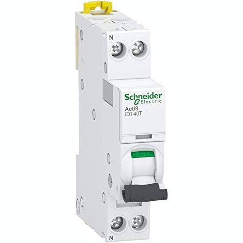 1P+N 4500A//4,5kA courbe C Acti9 iDT40K 16A disjoncteur modulaire