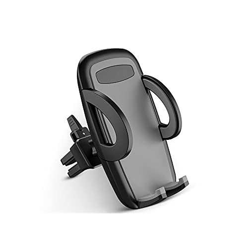 Dabeigouzzhij Accesorios Coche, Soporte para teléfono de automóvil Soporte de Soporte de Coche Soporte Universal de ventilación (Color : Gray)