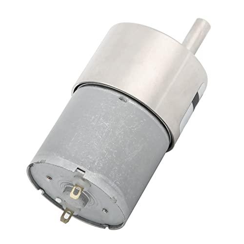 Motor de reducción de CC, motor de CC, motor de baja potencia, motor de reducción con engranaje del regulador de soporte ajustable DC12V CW/CCW XD ‑ 37GB3530(C)