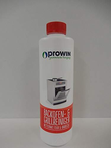 proWIN BACKOFENREINIGER & GRILLREINIGER 0,5 L + Pinsel