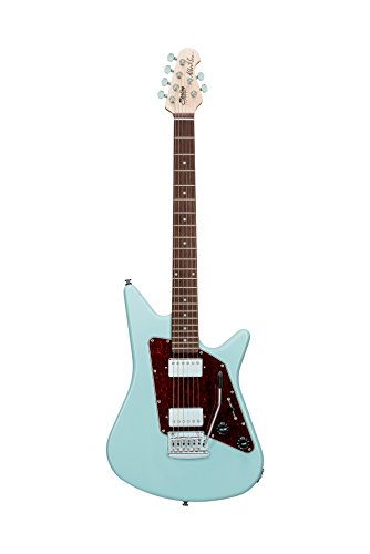 Sterling By MusicMan 6 String Sterling by Music Man Albert Lee HH AL40 Electric Guitar in Daphne Blue, (AL40-DBL-R1)