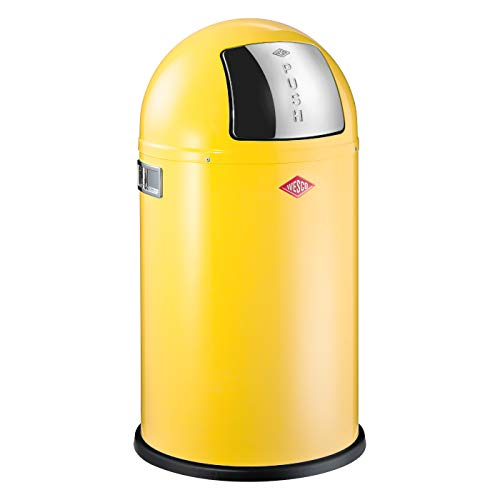 Preisvergleich Produktbild Wesco Abfallsammler Pushboy Junior 22 Liter lemonyellow