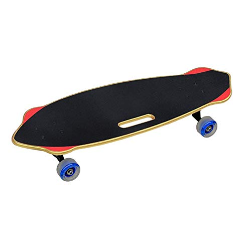 Lowest Prices! Bjzxz Four-Wheeled Skateboard Adult Children Road Brush Street Professional Maple Woo...