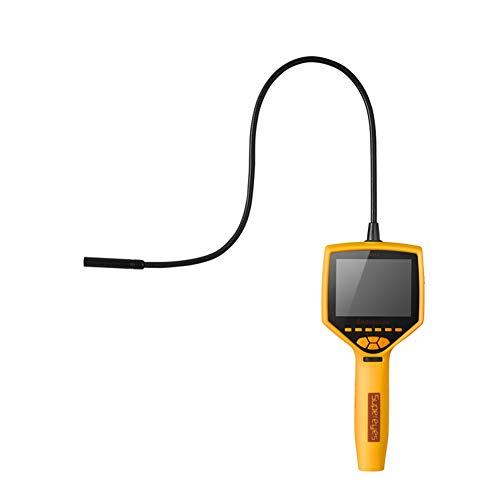 Endoscopio, Impermeable Hd 3,5-Pulgadas De Pantalla Enfoque Ajustable Endoscopio Industrial, Adecuado Para La Industria Automotriz Tubería Endoscopio