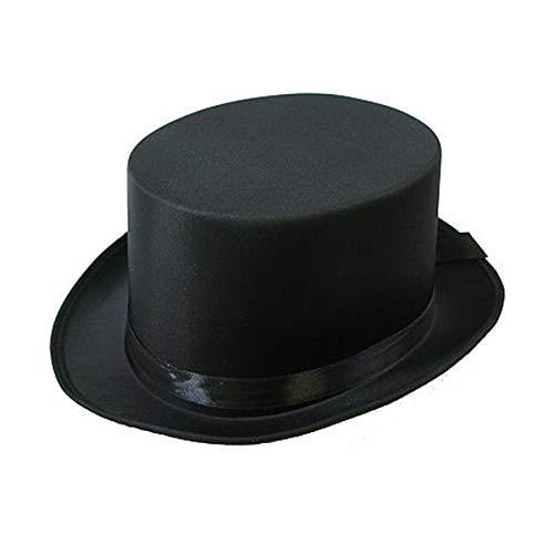 Hut Zylinder schwarz weiss rosa Hochzeit Party Spiel ®Auto-schmuck (schwarz)