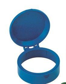 ZHZ-Deckel, Ersatzdeckel/Schutzhaube zu Wohnungswasserzähler/Zapfhahnzähler Wassergeräte