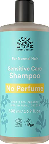 Urtekram - Sin Perfume Champú para cabello normal 500 ml - Origen 100% natural