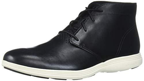 Price comparison product image Cole Haan Men's Grand Tour Chukka Black Leather / Ivory Boot,  Lthr,  10.0 M US