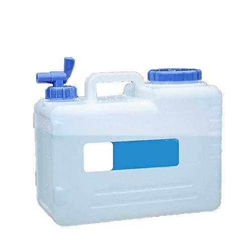 Fablcrew. Jerrican - Recipiente de Agua Potable portátil para Acampada con Grifo (10 L), Color 35 * 19 * 29CM, tamaño 15 L