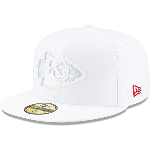 New Era 59Fifty Cap - Platinum Sideline Kansas City Chiefs -