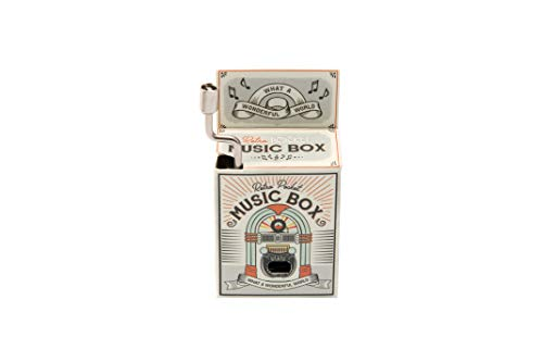 Caja de música Eureka por CGB Giftware \'What A Wonderful World\' - GB02826