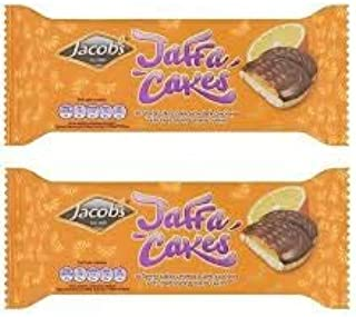 Jacobs Jaffa Cakes 147g x 2 packs Imported from Dublin Ireland