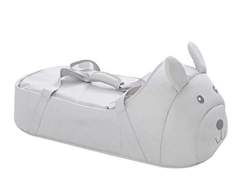 Cesta De Dormir Tumbona, Tumbona para Dormir Bebé Cuna para Dormir Cama Nido para Bebé Cesta De Dormir Portátil Grey