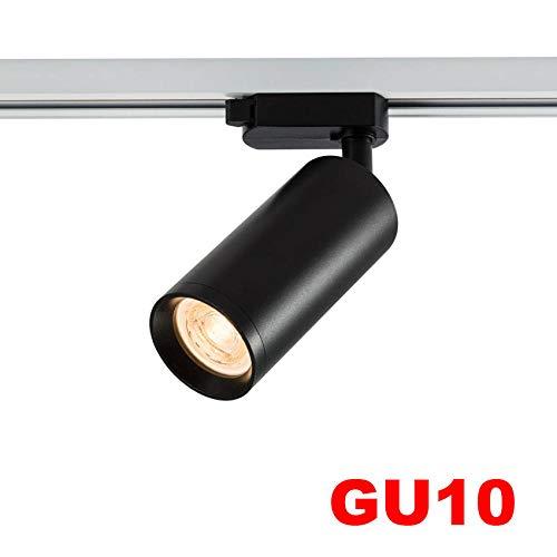 Plafondspot met spots voor plafondlamp, led-railverlichting, GU10 led-railverlichting, accessoires voor bewaking van gerichte lampen voor tenten showroom Ajus