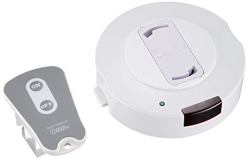 オーム電機 照明リモコンスイッチ OCR-CRS01W【品番04-9447】 OCR-CRS01W ホワイト